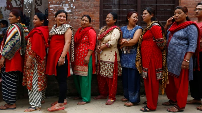 By law, women must comprise 33% of each legislative body in Nepal. Credit: Reuters