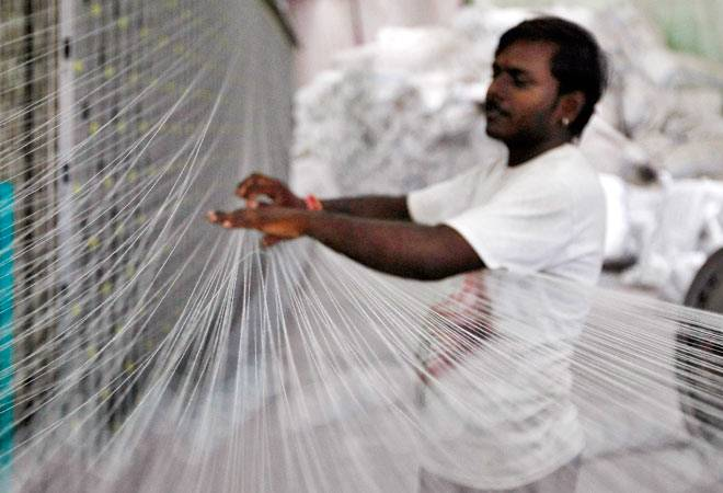India recorded a 40% increase in its exports of textiles in 2010 to become the third-largest exporting nation, ahead of the US. Credit: Reuters