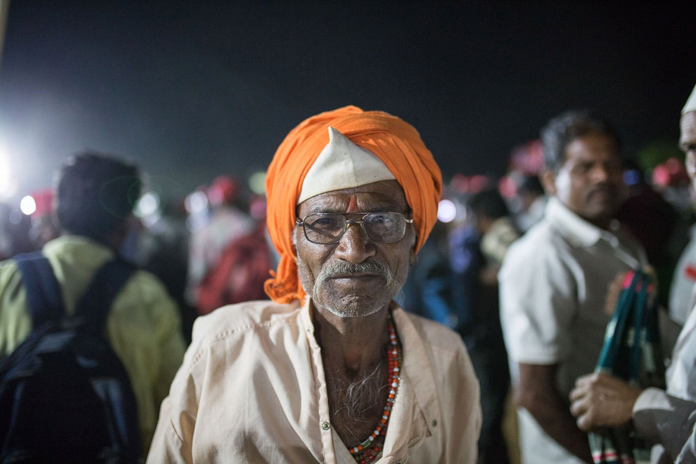 'We have to fight for our rights', asserts 65-year-old Shankar Waghere. Credit: Parth M.N./People's Archive of Rural India