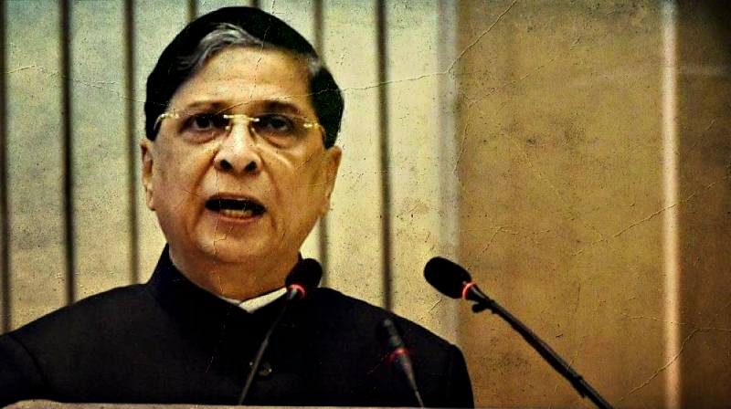 Chief Justice of India Dipak Misra. Credit: PTI