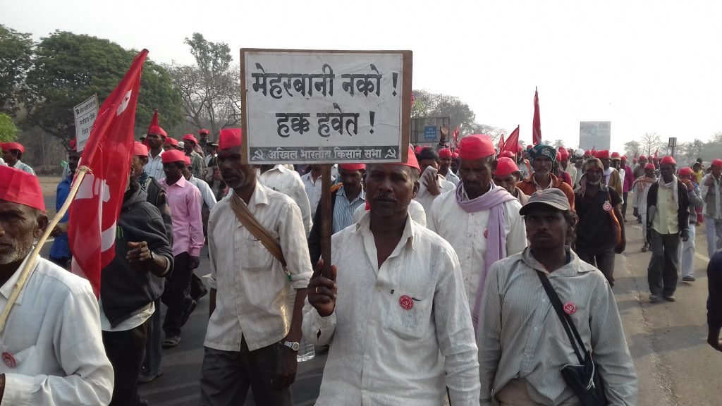 I Walked 40 km With the Farmers in Maharashtra, Here's What I Learnt