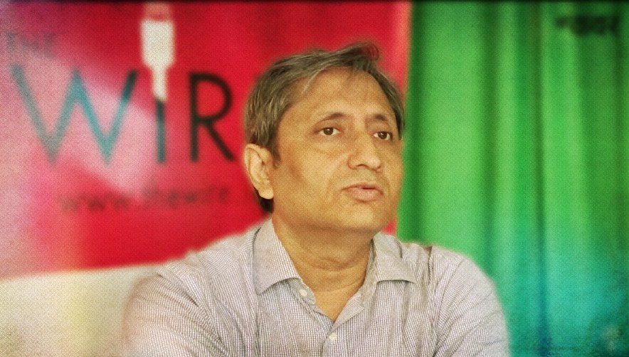Watch | 'Official Pressure on the Media Is Weakening Democracy': Ravish Kumar