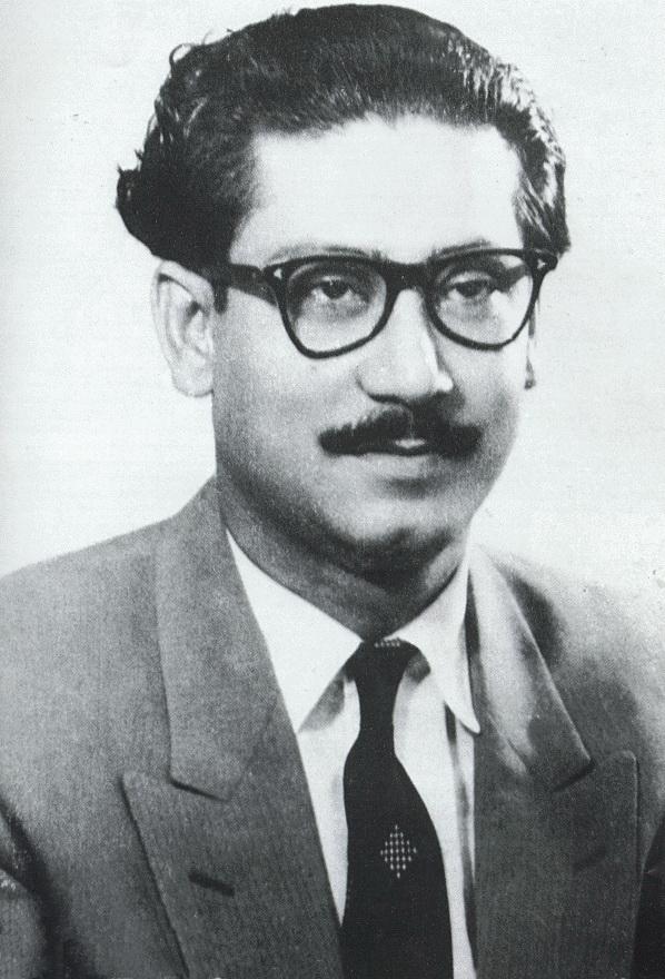 Sheikh Mujibur Rehman. Credit: Wikimedia Commons