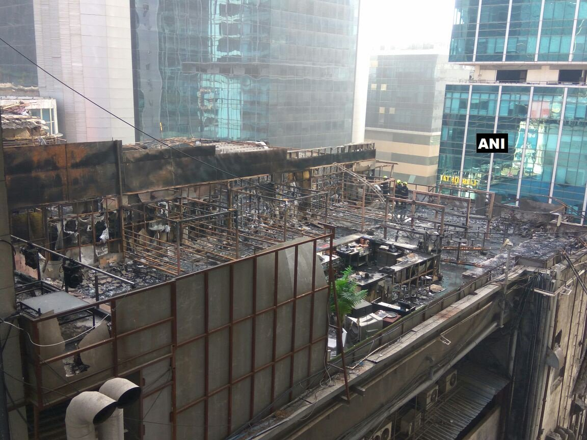 Kamala Mills this morning. Credit: ANI/Twitter