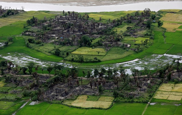 Over 354 Rohingya Villages Destroyed Since August Crackdown