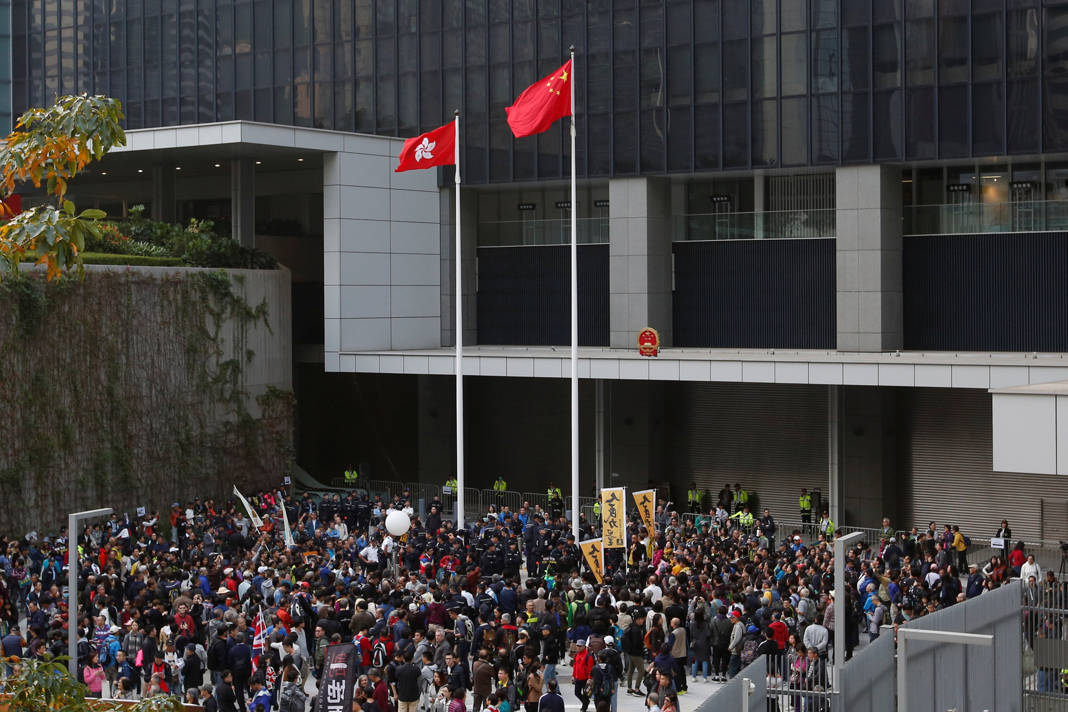 After Tough Year, Hong Kong Democracy Protesters Warn China on New Year's Day