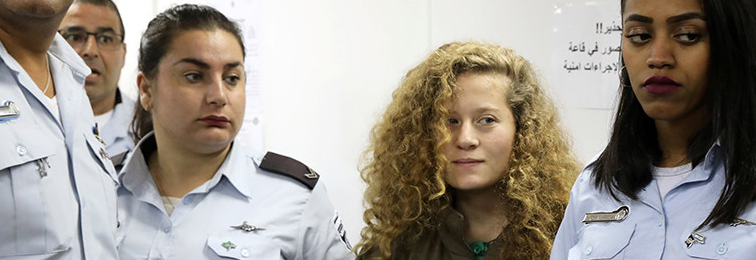 The Trials of Ahed Tamimi: Israel Set to Make an Example of 16-Year-Old Palestinian Girl