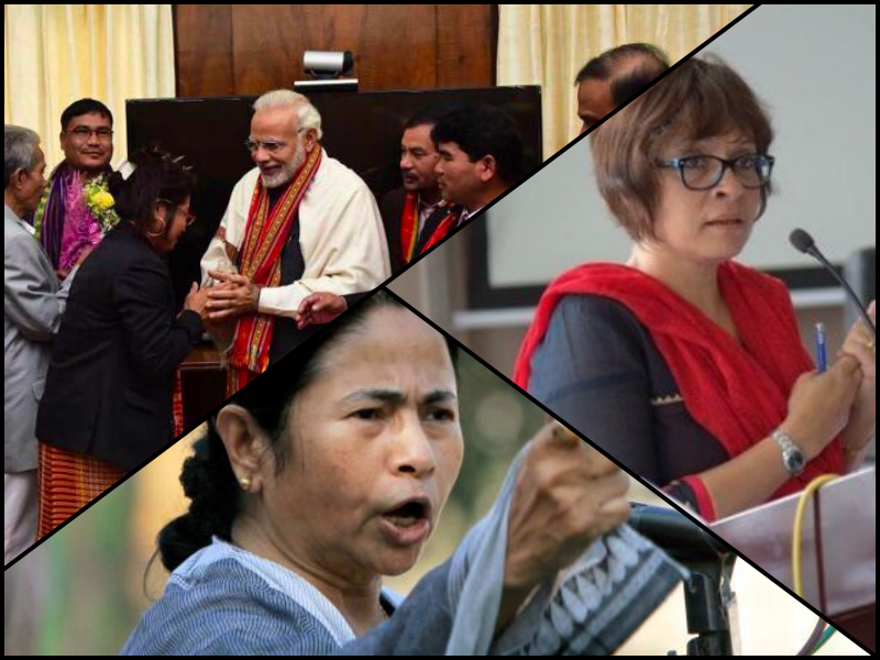 NE Dispatch: Tripura Party to Forge Alliance With BJP; Protests in Assam Over Bengal CM's NRC Remark
