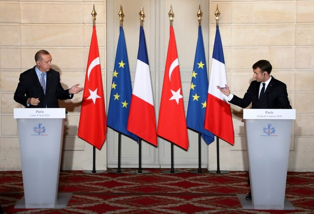 During Talks With Erdogan, France's Macron Urges Respect of Rule of Law