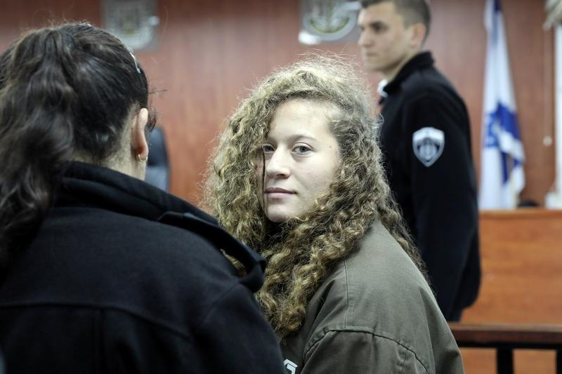 Palestinian Teen Ahed Tamimi Agrees to Plea Deal: Israeli Media