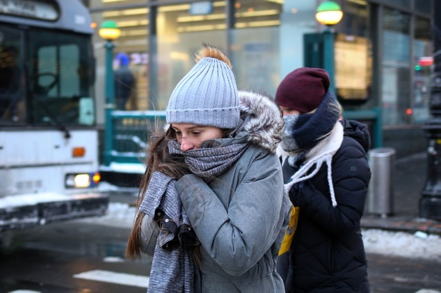 US East Coast Gripped by Brutal Cold After Blizzard