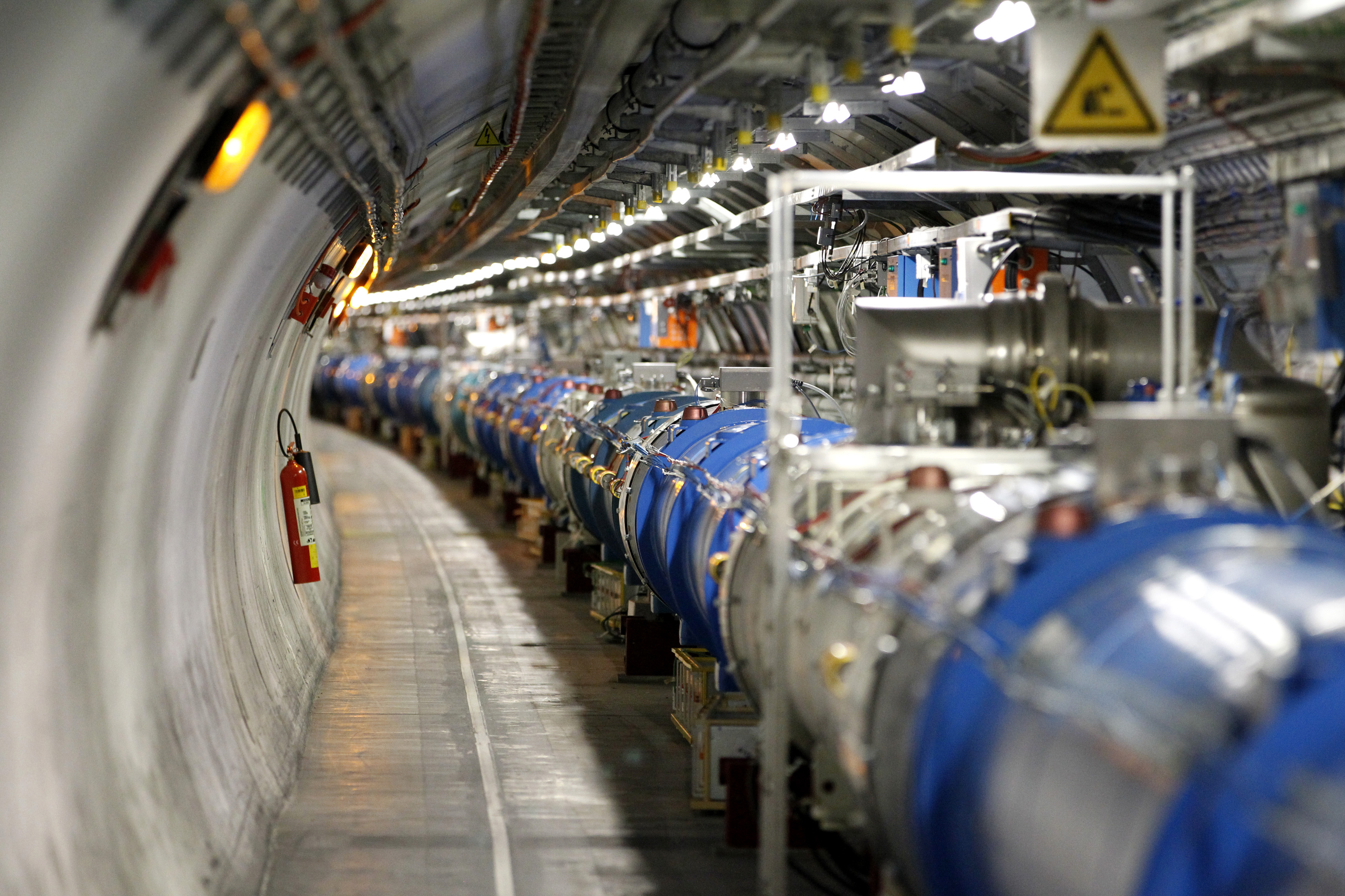 A general view of the LHC experiment as seen at CERN, near Geneva, Switzerland. Credit: Reuters/Pierre Albouy