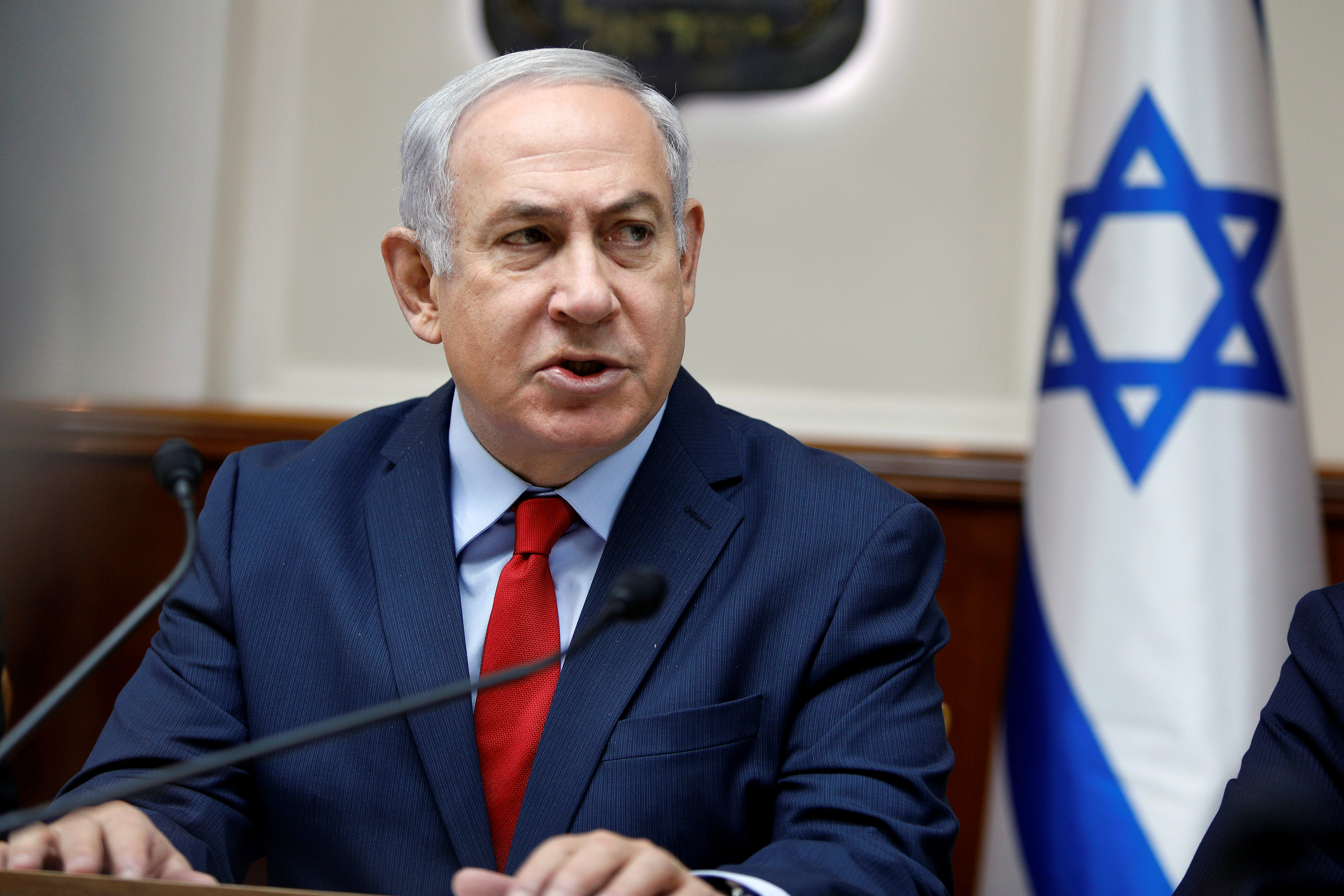 Netanyahu Makes Careful Comments on US Aid Cuts to Palestine