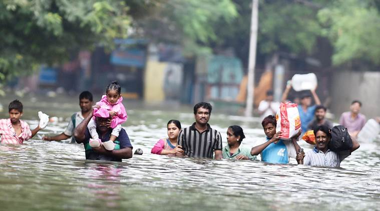 Extreme Rainfall Events in India Related to Human-made Emissions