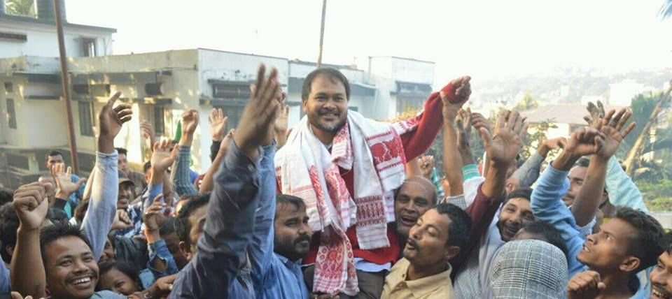 Citizenship Amendment: As Protests Continue in Assam, Akhil Gogoi Booked Under UAPA