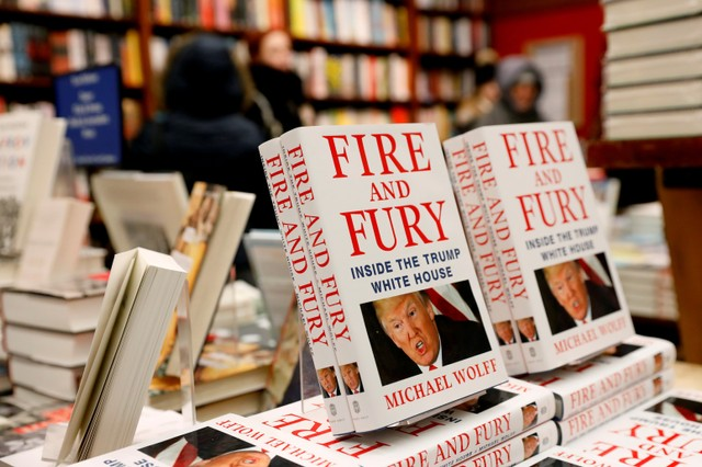 Stung by Wolff Book, Trump Calls for Stronger US Libel Laws