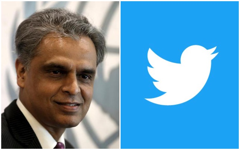 Twitter Account of India's Top Diplomat to the UN Hacked