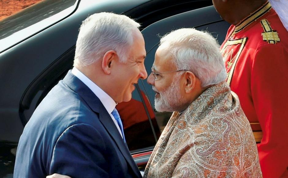 Modi-Netanyahu-PTI