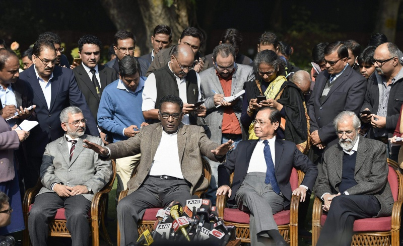 Indian VP shoots down opposition's impeachment motion against chief justice