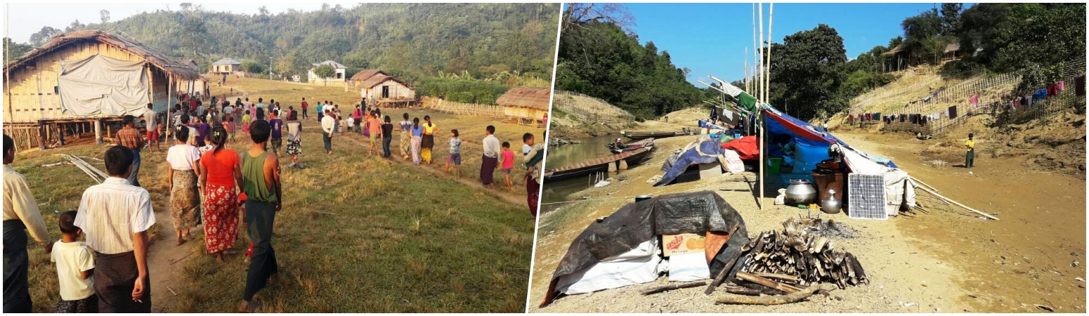 Photo Essay: A Myanmarese Buddhist Refugee Camp in Mizoram