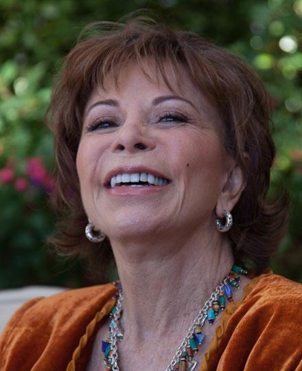Isabel Allende. Credit: isabelallende.com