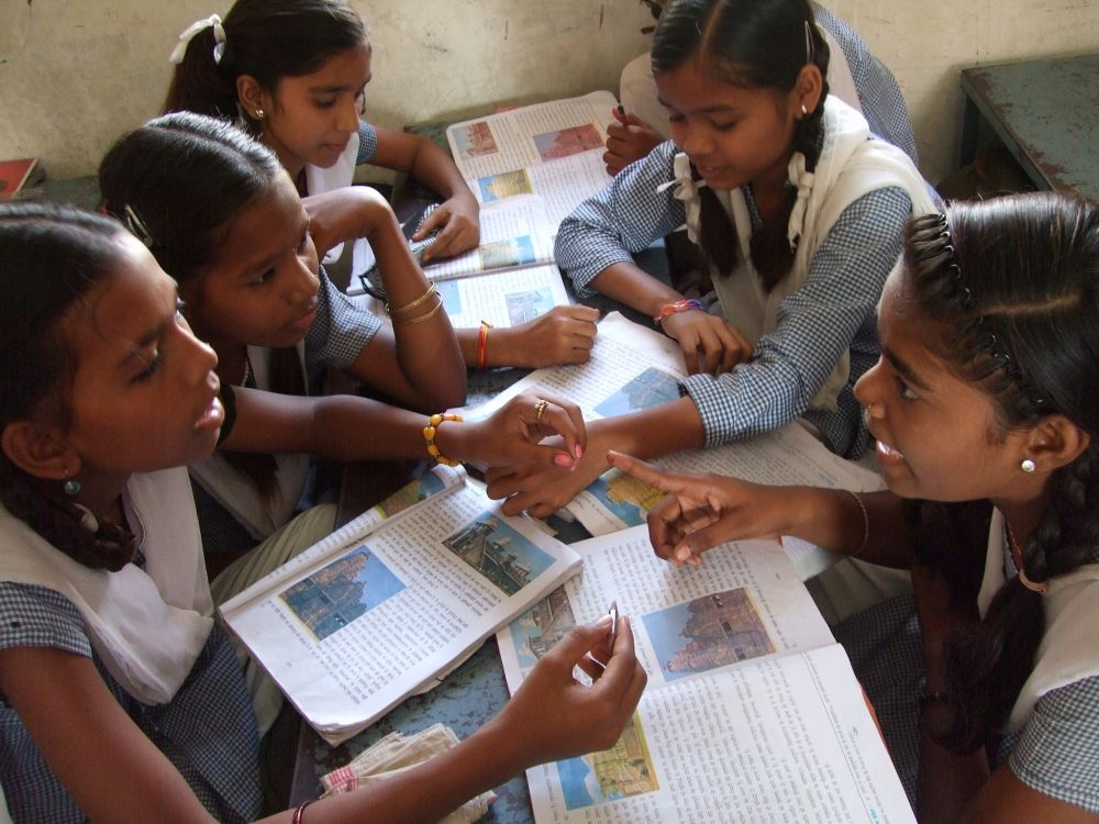 ASER's statistics have shown how the ability of grade 8 students has been consistently falling over the years, coinciding with the increase in enrolment rates. Credit: TESS India/Flickr (CC BY-SA 2.0)