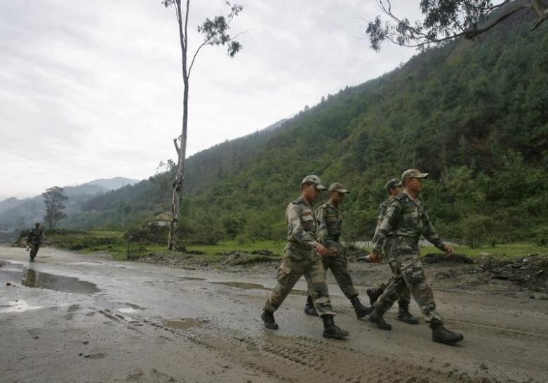 Security officials in Arunachal Pradesh. Representative image. Credit: Reuters