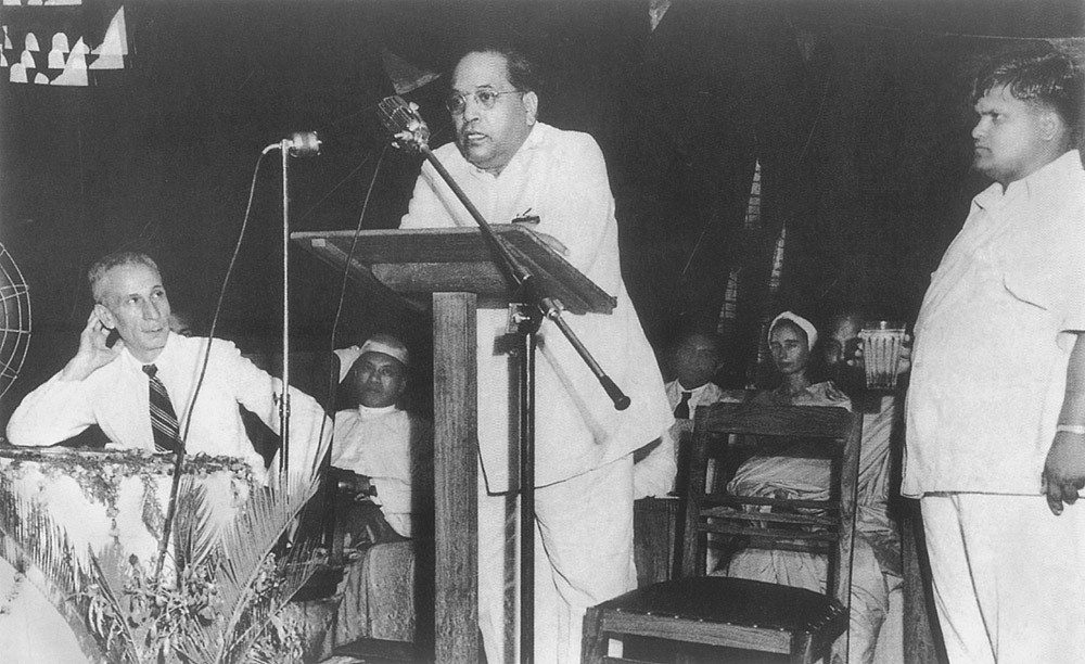 B.R. Ambedkar. Credit: Wikimedia Commons