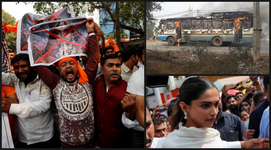 Anti-'Padmaavat' Protests: SC to Hear Contempt Pleas; Bajrang Dal Workers Clash With Police