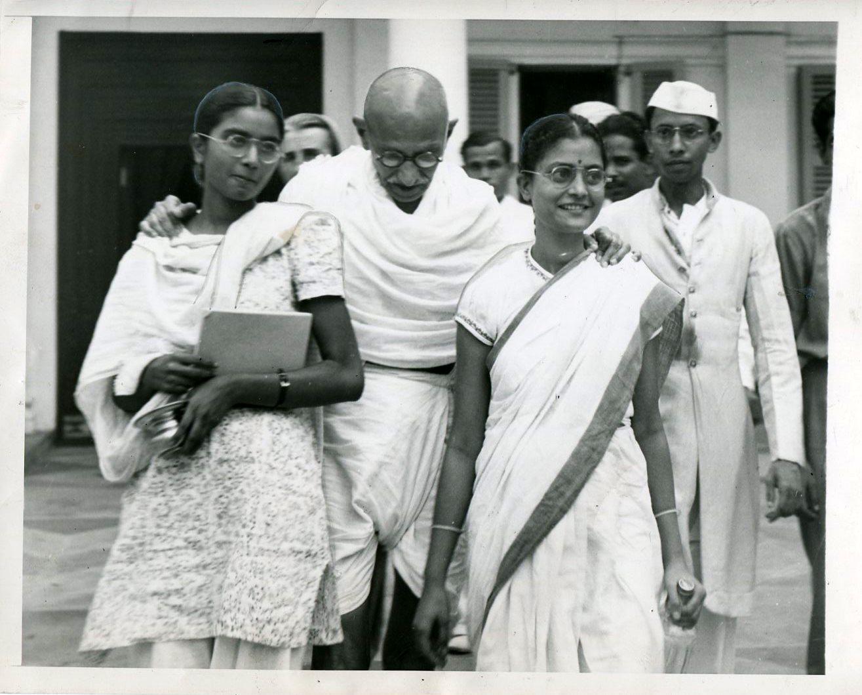 Gandhi in October 1947. Credit: Wikimedia Commons