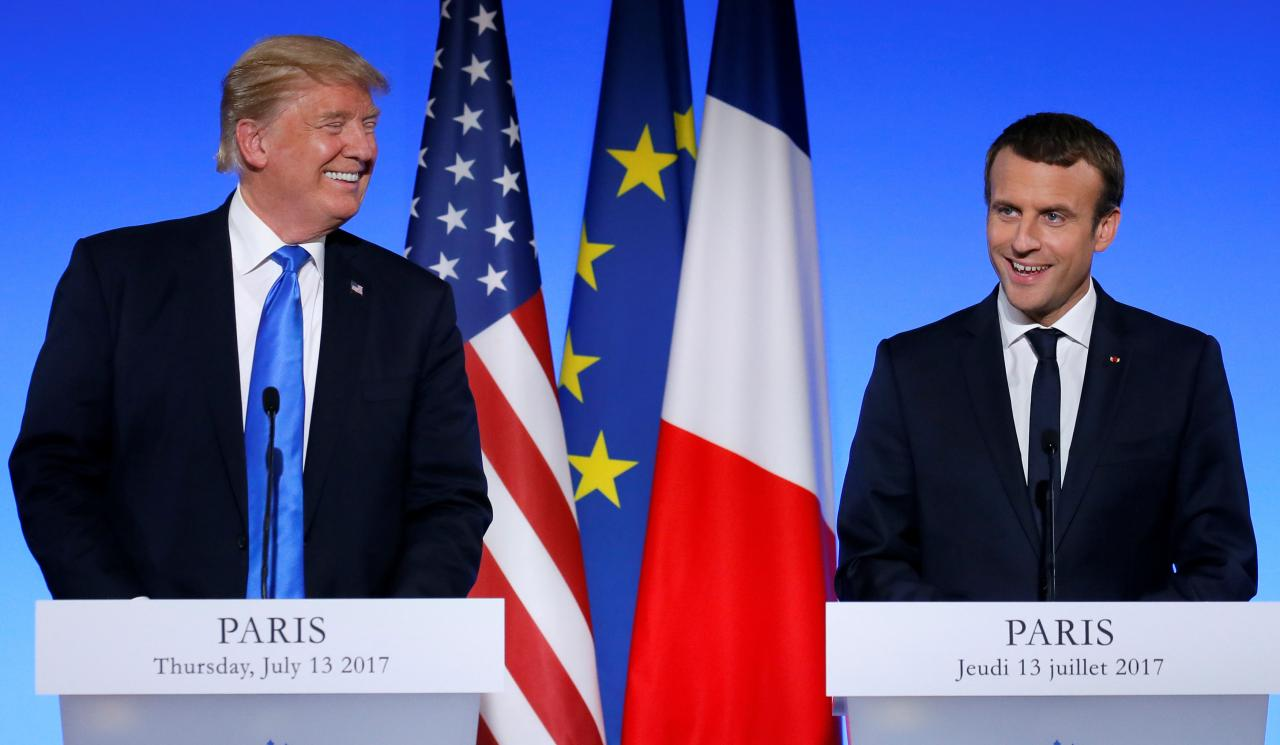 France to Trump: 'No Paris Agreement, No Trade Agreement'