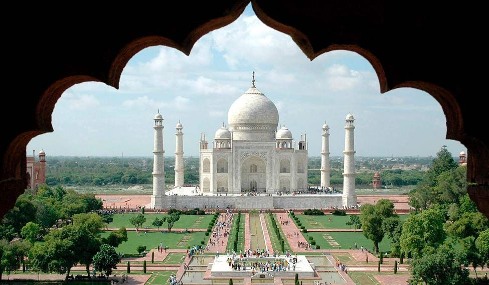 Taj Mahal. Credit: Reuters