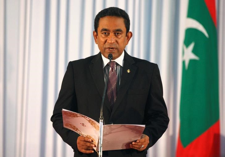 Maldives' Embattled President Sends Diplomats to China, Saudi for Support