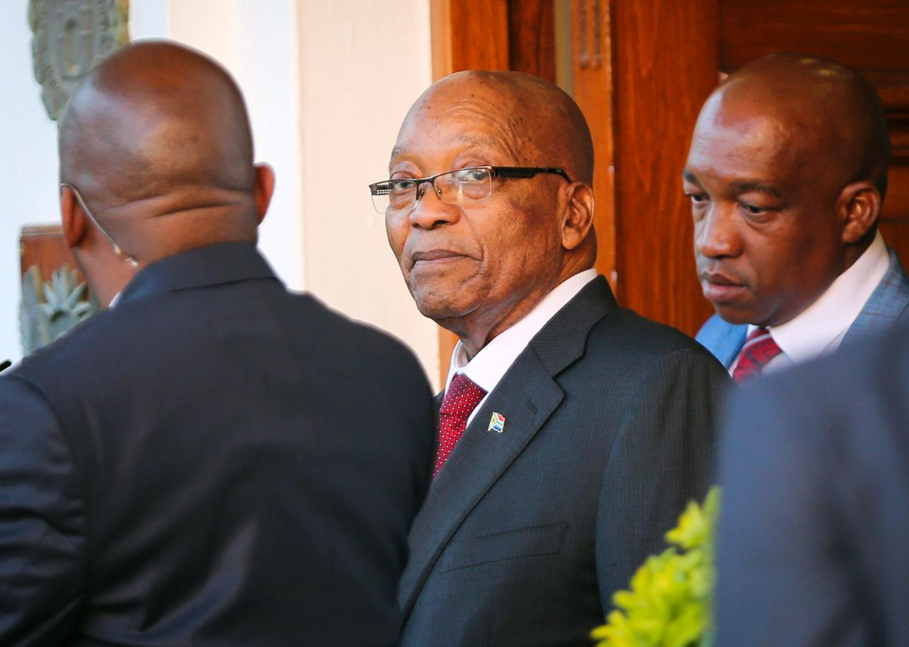South Africa's ANC Decides to Remove Zuma as President