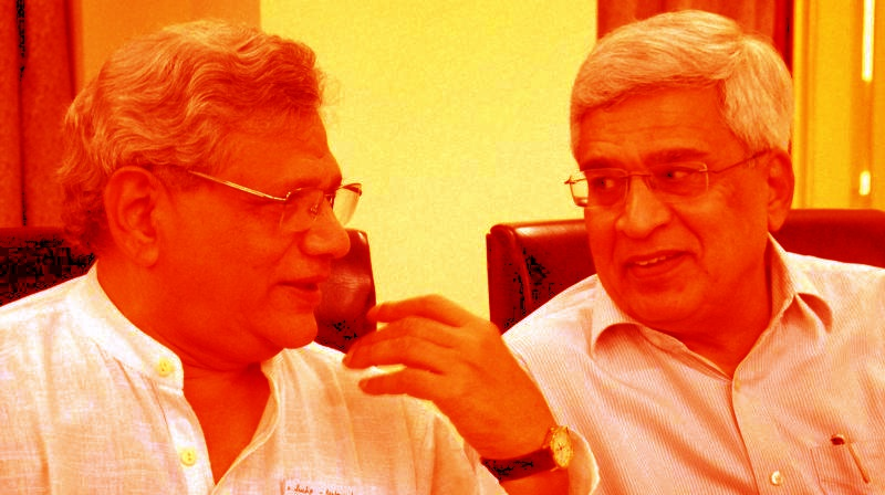 Despite the Infamous Rift Between Karat and Yechury, CPI(M)'s Draft Resolution Reflects No Clarity