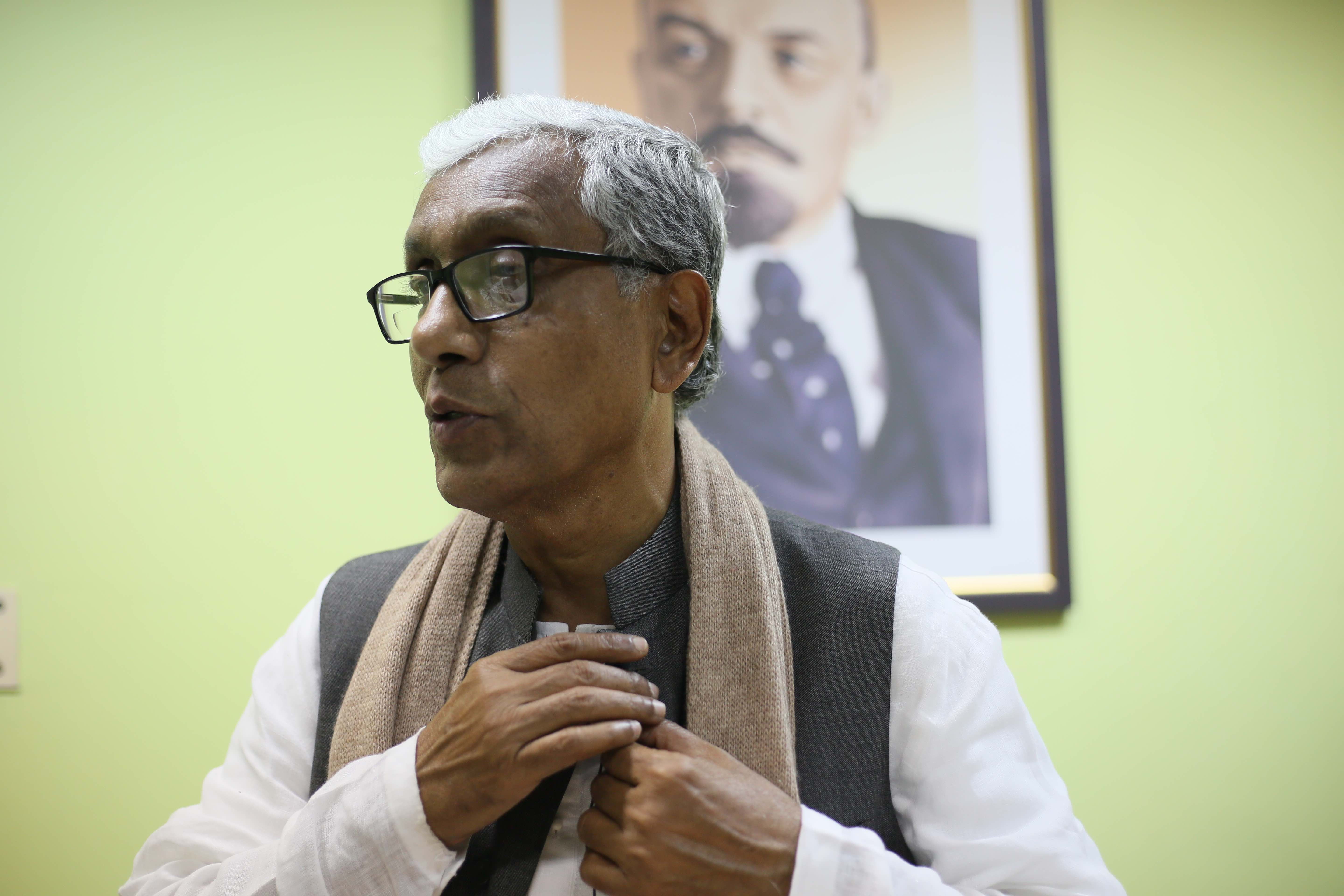 Tripura chief minister Manik Sarkar. Credit: The Wire