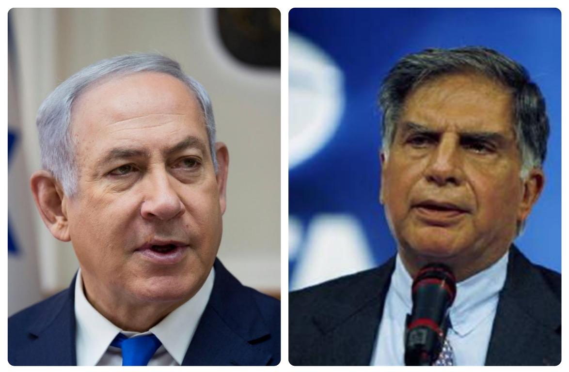 Israeli Police Name Ratan Tata in Case Against Benjamin Netanyahu