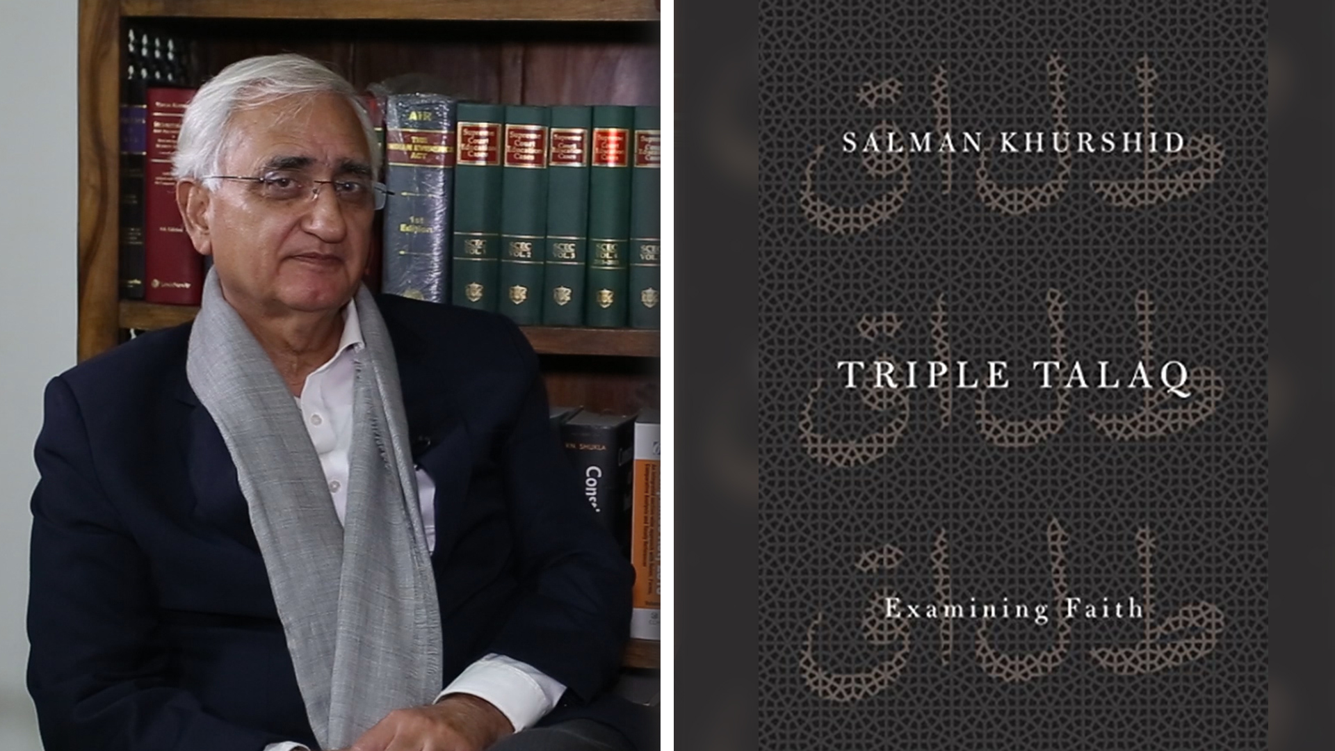 Wide Angle, Episode 22: Salman Khurshid On His Book On Triple Talaq