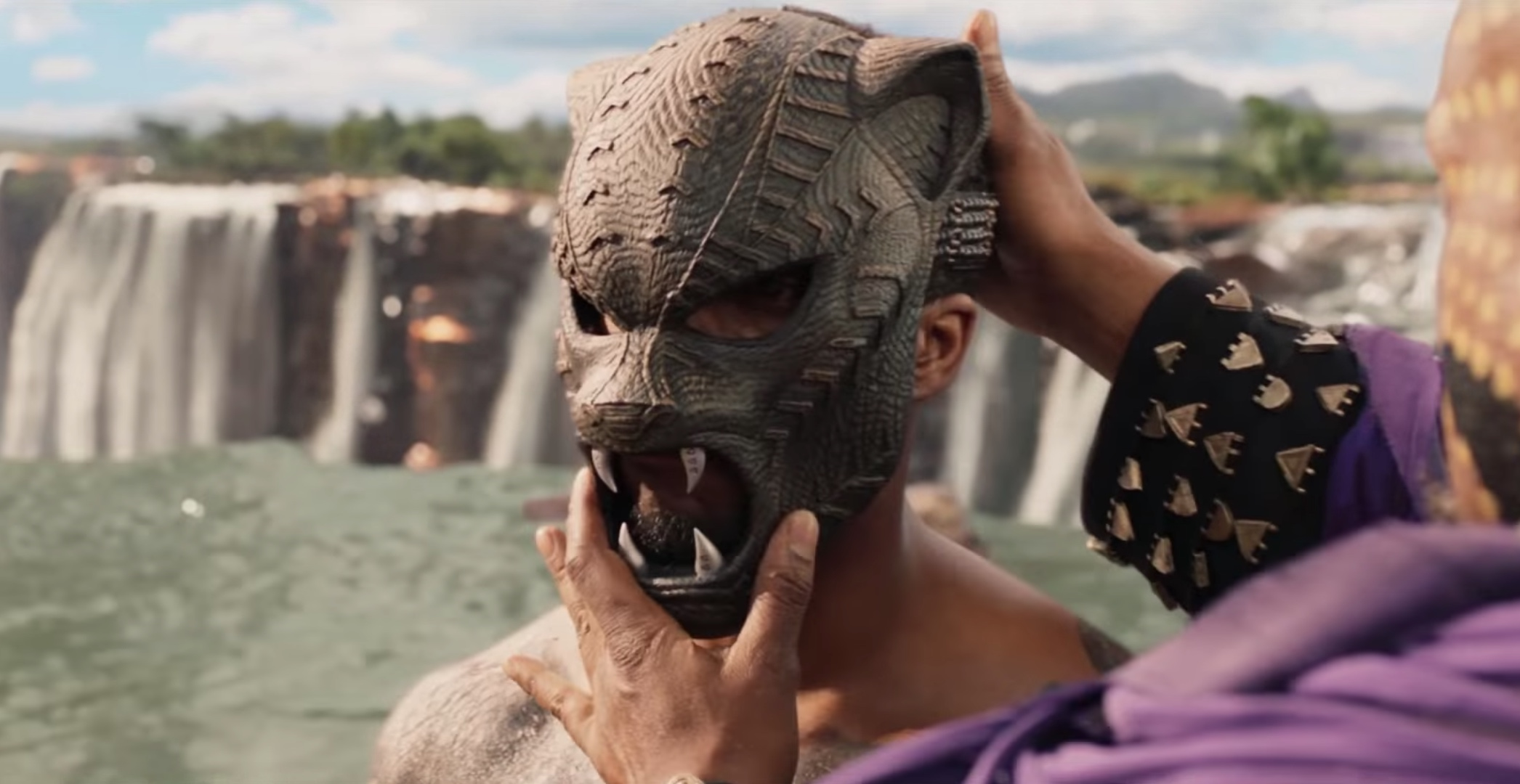 A scene from 'Black Panther' (2018). Source: YouTube