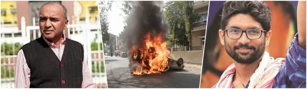 Protests Erupt in Gujarat as Dalit Activist Self-Immolates; Two MLAs, 200 Others Detained