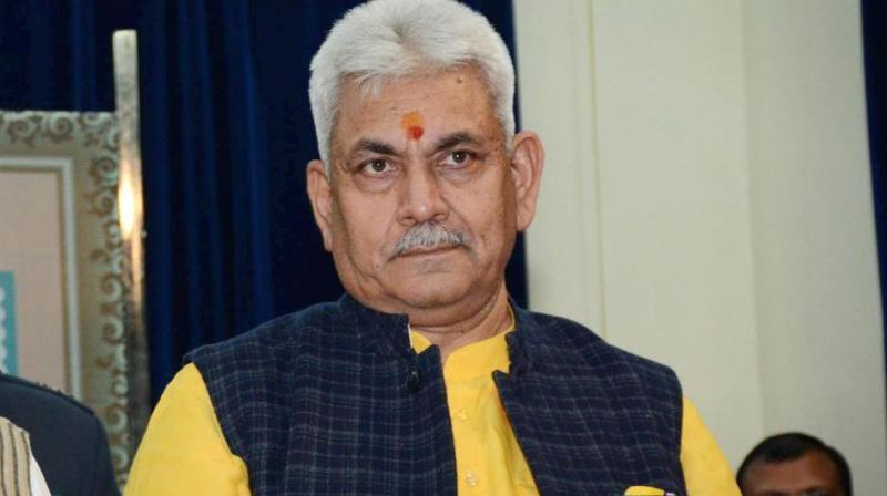 BJP Leader Manoj Sinha Replaces Murmu in J&K, Fourth LG in Two Years