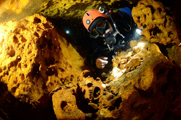 Ice Age Animal Bones, Ancient Human Remains Found in Giant Mexican Cave