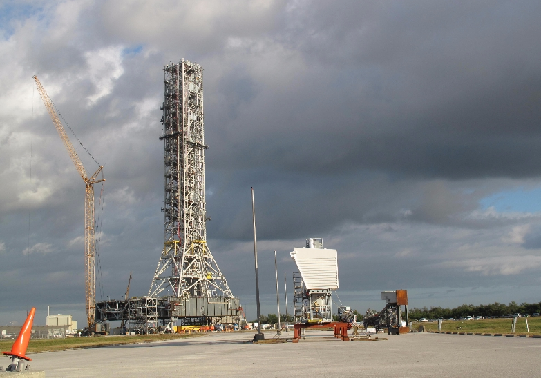 NASA's $1 Billion 'Leaning' Launch Tower Likely to Bite the Dust After Just One Use