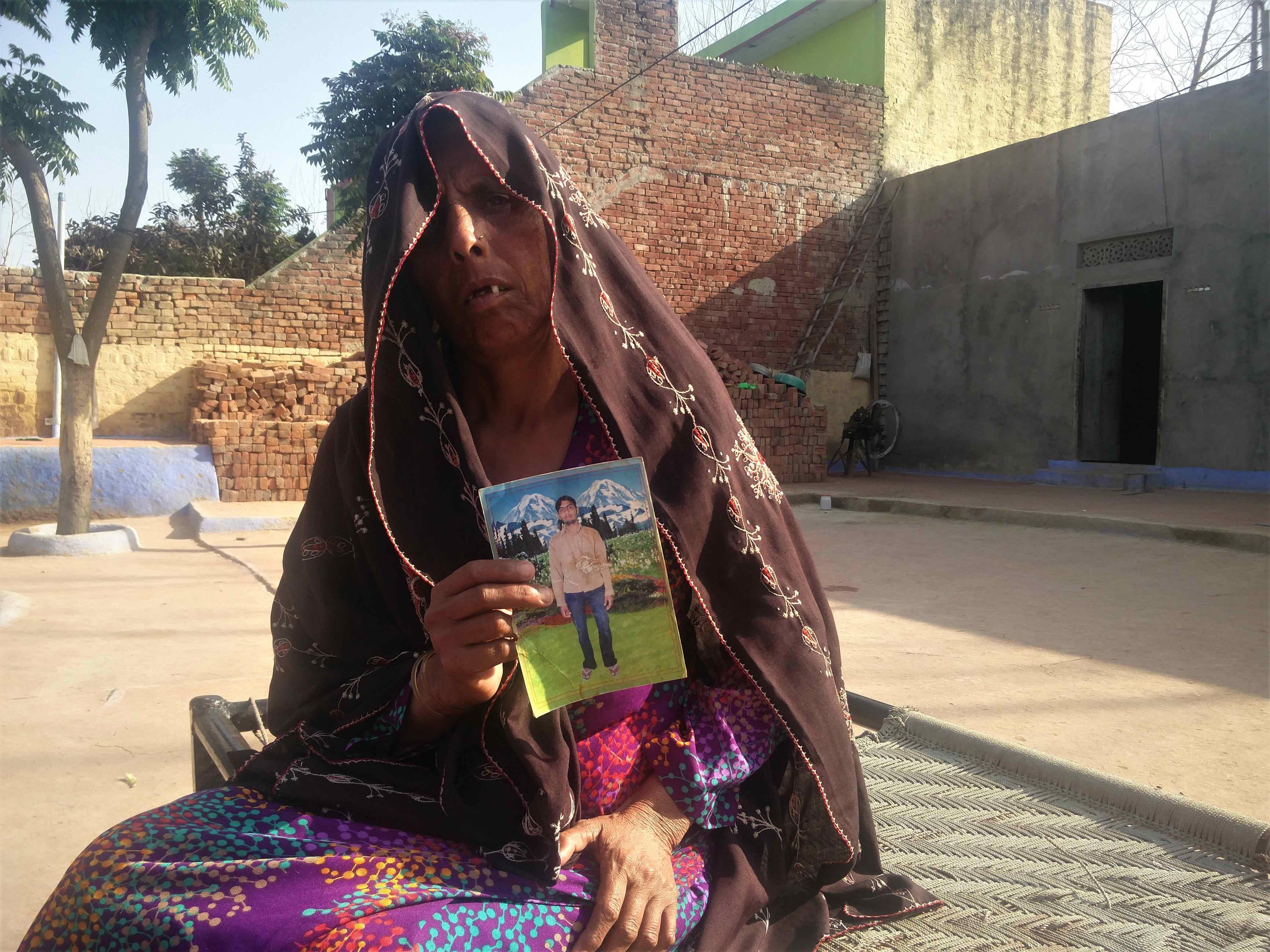 Hamida, Sarwar's mother. Credit: Neha Dixit