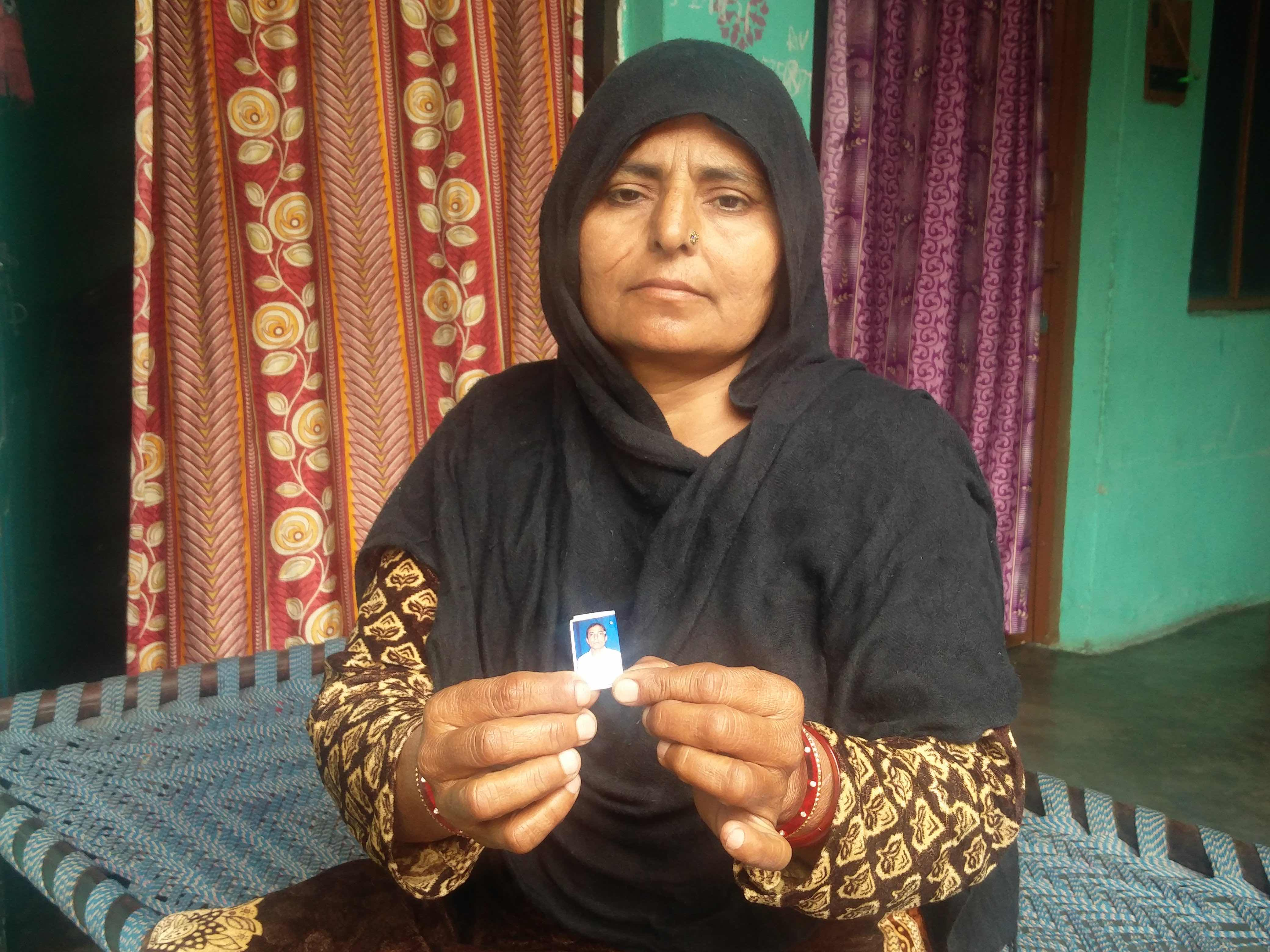 Salma, Shamshad's aunt. Credit: Neha Dixit