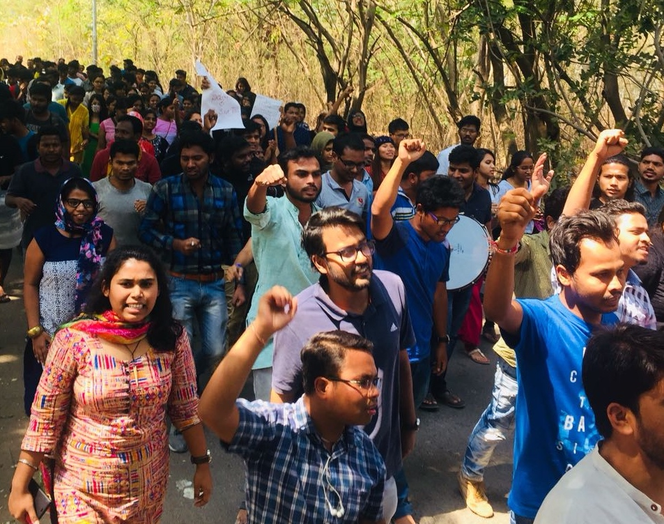 Protests Continue at TISS Over Cancellation of Aid for SC, ST, OBC Students