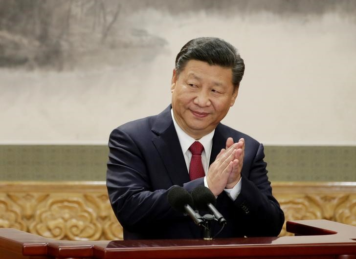 President Xi vows to build strong China