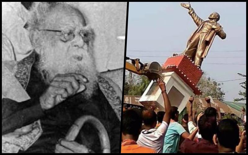 After Bringing Down Lenin's Statue in Tripura, BJP Leaders Turn to Periyar in Tamil Nadu