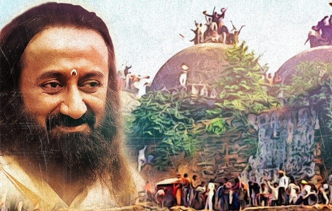 Sri Sri Ups the Communal Ante By Wading into Ayodhya's Murky Waters