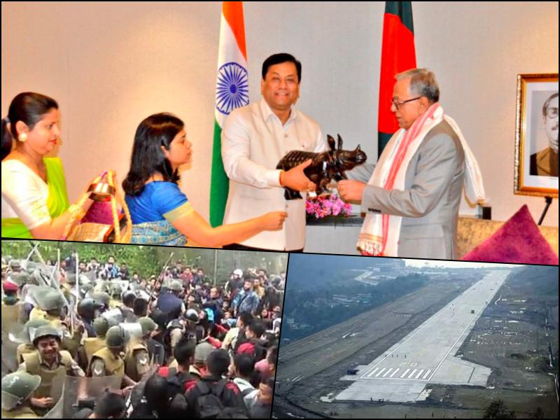 NE Dispatch: Violence Along Assam-Mizoram Border; First Plane Lands at Sikkim's Pakyong Airport